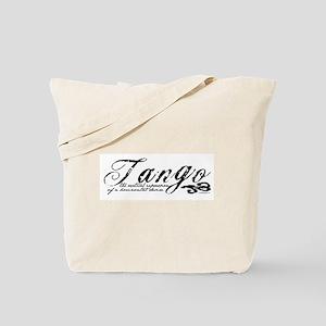 Tango Definition Tote Bag