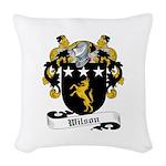 Wilson (Fingach)-Scottish-9.jpg Woven Throw Pillow