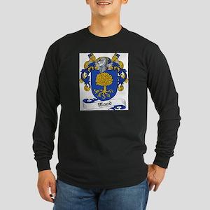 Wood-Scottish-9 Long Sleeve Dark T-Shirt