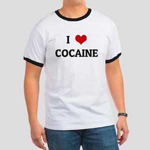 I Love COCAINE Ringer T