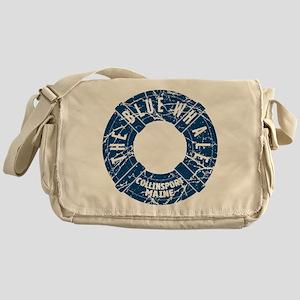 Dark Shadows Blue Whale Messenger Bag