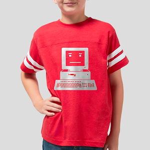 024_OKComputer_BLACK Youth Football Shirt