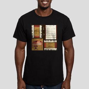 Piano Keys Music Song Clef T-Shirt