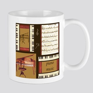 Piano Keys Music Song Clef Mug