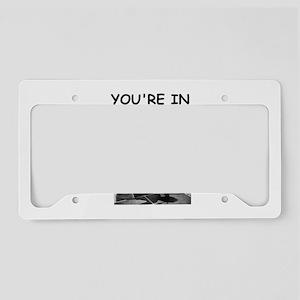 table tennis License Plate Holder