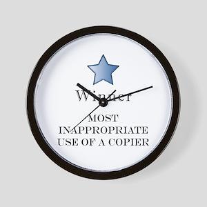 The Photocopier Award Wall Clock