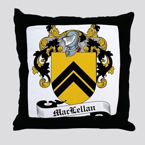 MacLellan Family Crest / Coat of Arms Throw Pillow