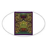 Mixtec Oaxaca Sticker (Oval 10 pk)