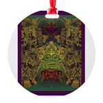 Mixtec Oaxaca Round Ornament