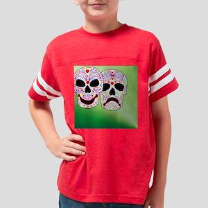 Comitragic DODT Skulls Youth Football Shirt