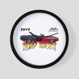 Road Racer - 1971 Cuda Wall Clock