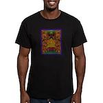 Monte Alban Gold Men's Fitted T-Shirt (dark)