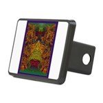 Monte Alban Gold Rectangular Hitch Cover
