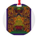 Monte Alban Gold Round Ornament