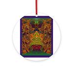 Monte Alban Gold Ornament (Round)