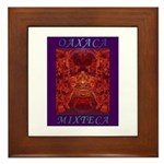 Oaxaca Mixteca Framed Tile