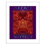 Oaxaca Mixteca Small Poster