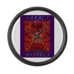 Oaxaca Mixteca Large Wall Clock