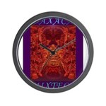 Oaxaca Mixteca Wall Clock