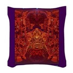 Oaxaca Mixteca Woven Throw Pillow