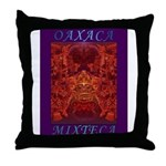 Oaxaca Mixteca Throw Pillow