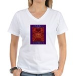 Oaxaca Mixteca Women's V-Neck T-Shirt