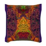 Zapotec Oaxaca Woven Throw Pillow