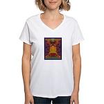 Zapotec Oaxaca Women's V-Neck T-Shirt