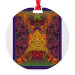 Zapotec Oaxaca Round Ornament
