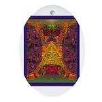 Zapotec Oaxaca Ornament (Oval)