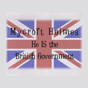 The British Government Throw Blanket