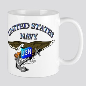 Navy - Eagle with Anchor Mug