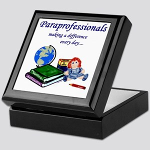 Paraprofessionals Making a Difference Keepsake Box
