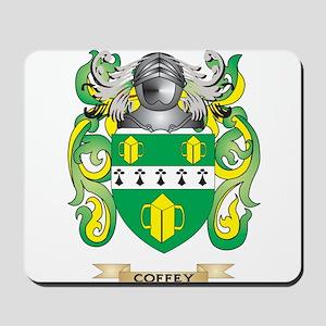 Coffey Coat of Arms Mousepad