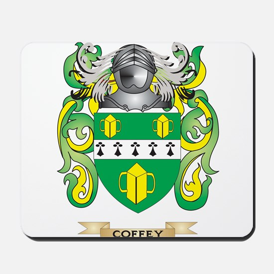 Coffey Coat of Arms Mousepad