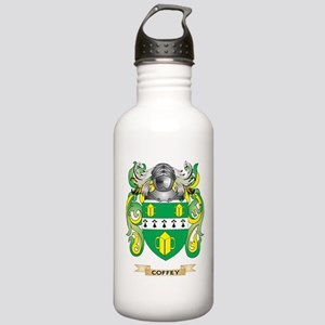 Coffey Coat of Arms Water Bottle