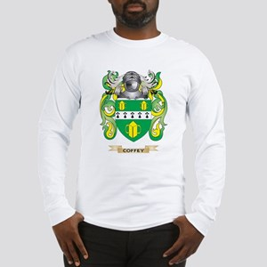 Coffey Coat of Arms Long Sleeve T-Shirt