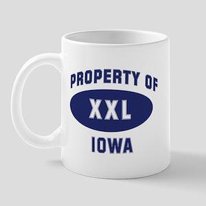 Property of IOWA Mug