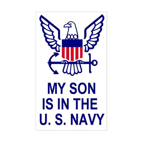 Sticker: My Son Is In The Navy