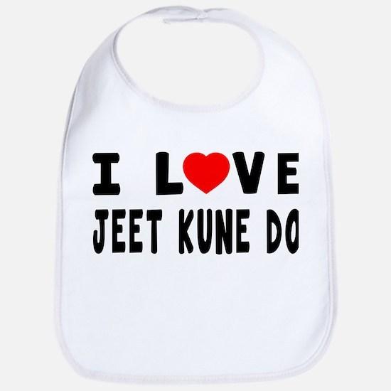 I Love Jeet Kune Do Bib