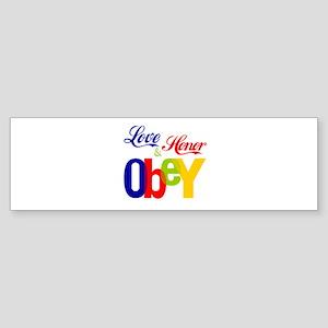 The Wedding Vow Bumper Sticker