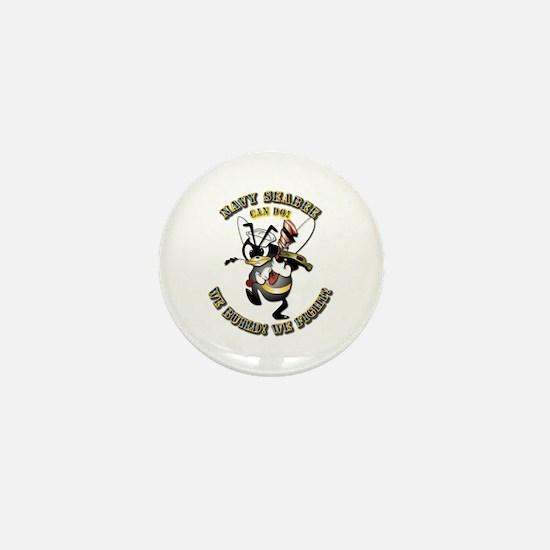 Navy SeaBee - Construction Mini Button