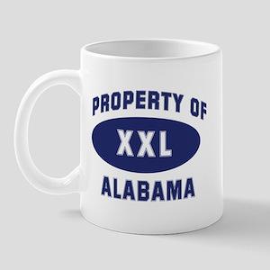 Property of ALABAMA Mug