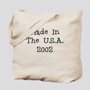 Made in the usa 2002 Tote Bag