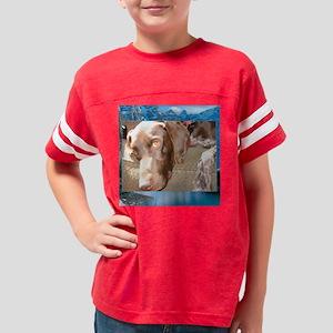 BleuWhiteMount Youth Football Shirt