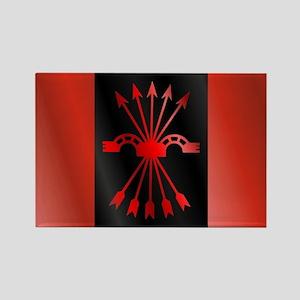 Bandera Falange Rectangle Magnet