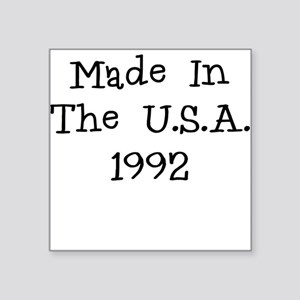 Made in the usa 1992 Sticker