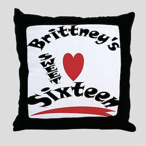 Brittney's Throw Pillow