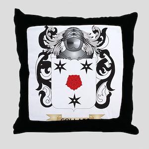 Collazo Coat of Arms Throw Pillow