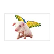 Pigs Fly Wall Decal Sticker